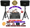 """SINGTRONIC COMPLETE 1000W KARAOKE SYSTEM PACKAGE SPECIAL WITH 50,000 SONGS <font color=""""#FF0000""""><b><i>NEWEST MODEL: 2019 WITH HDMI & WIFI & EQUILIZER</i></b></font>"""