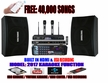 """SINGTRONIC COMPLETE 1000W KARAOKE SYSTEM SPECIALS WITH FREE: 40,000 SONGS <font color=""""#FF0000""""><i><b>MODEL: 2017 WITH HDMI, RECORDING & WIFI YOUTUBE</b></i></font>"""