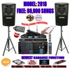"SINGTRONIC PROFESSIONAL COMPLETE 3000 WATTS KARAOKE SYSTEM <font color=""#FF0000""><b><i>MODEL: 2018 LOADED OVER 80,000 SONGS</i></b></font> WIFI & HDMI OUTPUT & YOUTUBE KARAOKE"