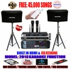 "SINGTRONIC COMPLETE 1000W KARAOKE SYSTEM SPECIALS WITH 45,000 SONGS <i><b><font color=""#FF0000"">NEWEST MODEL: 2018 BUILT IN HDMI & USB RECORDING</font></b></i>"
