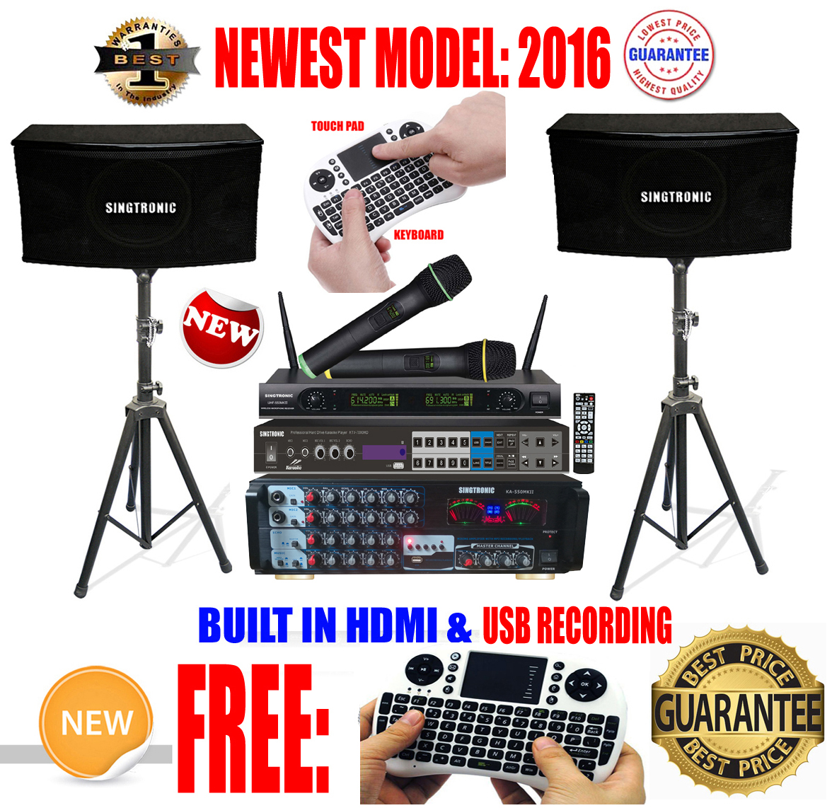 singtronic complete 1000w karaoke system package specials with 40 000 songs karaoke newest model. Black Bedroom Furniture Sets. Home Design Ideas