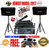 "SINGTRONIC COMPLETE 1000W KARAOKE SYSTEM SPECIALS WITH 40,000 SONGS <i><b><font color=""#FF0000"">NEWEST MODEL: 2017 BUILT IN USB RECORDING & BLUETOOTH FUNCTION</font></b></i>"