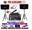 """SINGTRONIC COMPLETE 1000W KARAOKE SYSTEM SPECIALS WITH 45,000 SONGS <i><b><font color=""""#FF0000"""">NEWEST MODEL: 2017 BUILT IN HDMI & USB RECORDING</font></b></i>"""
