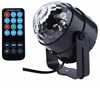 "SINGTRONIC L.E.D PARTY DISCO BALL LIGHT WITH REMOTE CONTROL & SYNC MUSIC <font color=""#FF0000""><i><b>MODEL: 2018</b></i></font>"
