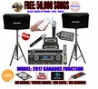 """SINGTRONIC PROFESSIONAL COMPLETE 1500W KARAOKE SYSTEM SPECIALS WITH FREE: 50,000 SONGS <font color=""""#FF0000""""><b><i>NEWEST MODEL: 2017 DSP, HDMI, WIFI & RECORDING FUNCTION</i></b></font>"""