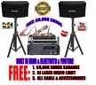 "SINGTRONIC PROFESSIONAL COMPLETE 1000 WATTS KARAOKE SYSTEM <font color=""#FF0000""><b><i>MODEL: 2019 LOADED OVER 60,000 SONGS</i></b></font> WIFI, HDMI & USB PLAYBACK, BLUETOOTH FUNCTION"