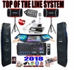"""SINGTRONIC PROFESSIONAL COMPLETE 4000 WATTS KARAOKE SYSTEM <font color=""""#FF0000""""><b><i>TOP OF THE LINE MODEL: 2018 SUPER TWEETERS & MONSTER BASS W/ Wifi Android & Recording Function</i></b></font> FREE: 55,000 SONGS & TOUCH SCREEN & YOUTUBE KARAOKE"""