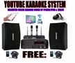 "<i><b><font color=""#FF0000"">MODEL: 2018 YOUTUBE KARAOKE BY IPHONE/IPAD &  TABLET</font></b></i> PROFESSIONAL 2000W COMPLETE KARAOKE SYSTEM SPECIAL BUILT IN HDMI & BLUETOOTH"
