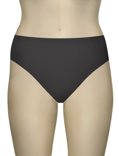 Aerin Rose High-Waisted Bikini Brief 84411 - Graphite