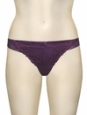 Affinitas Intimates Molly Thong A1144 - Plum