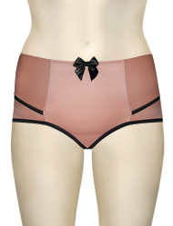 Parfait Charlotte High Waist Brief 6917 - Rose / Black