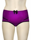 Parfait Charlotte High Waist Brief 6917 - Purple / Black