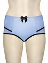 Parfait Charlotte High Waist Brief 6917 - Blue / Black