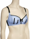 Parfait Charlotte Padded Bra 6901 - Blue / Black