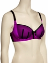 Parfait Charlotte Padded Bra 6901 - Purple / Black