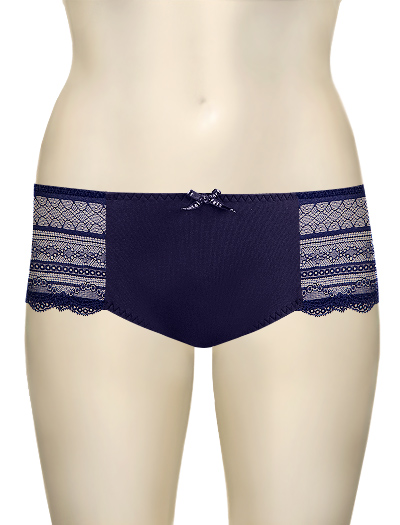 Affinitas Intimates Kelly Boyshort 6705 - Navy Blue