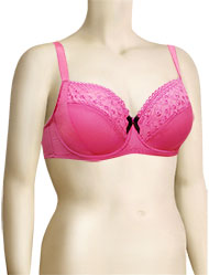 Affinitas Intimates Parfait Laura Wire Bra 7502 - Berry