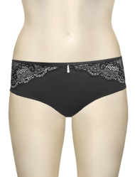 Parfait Marrianne Hipster Shorty P5155 - Black / Silver