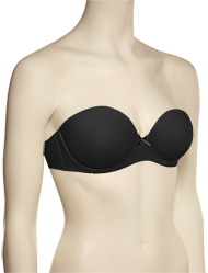 Affinitas Intimates Allison Strapless Bra 2415 - Black