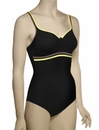 Anita Care Animal Mania Modica II Mastectomy One Piece Suit 6208 - Black