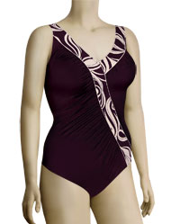 Anita Dark Rouge Josetta Bathing Suit 7327 - Purple