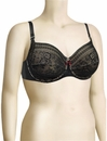 Anita Maternity Fleur Underwired Nursing Bra 5053 - Black