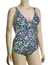 Anita Paradise Grove Lilith One Piece Swimsuit 7777 - Turquoise