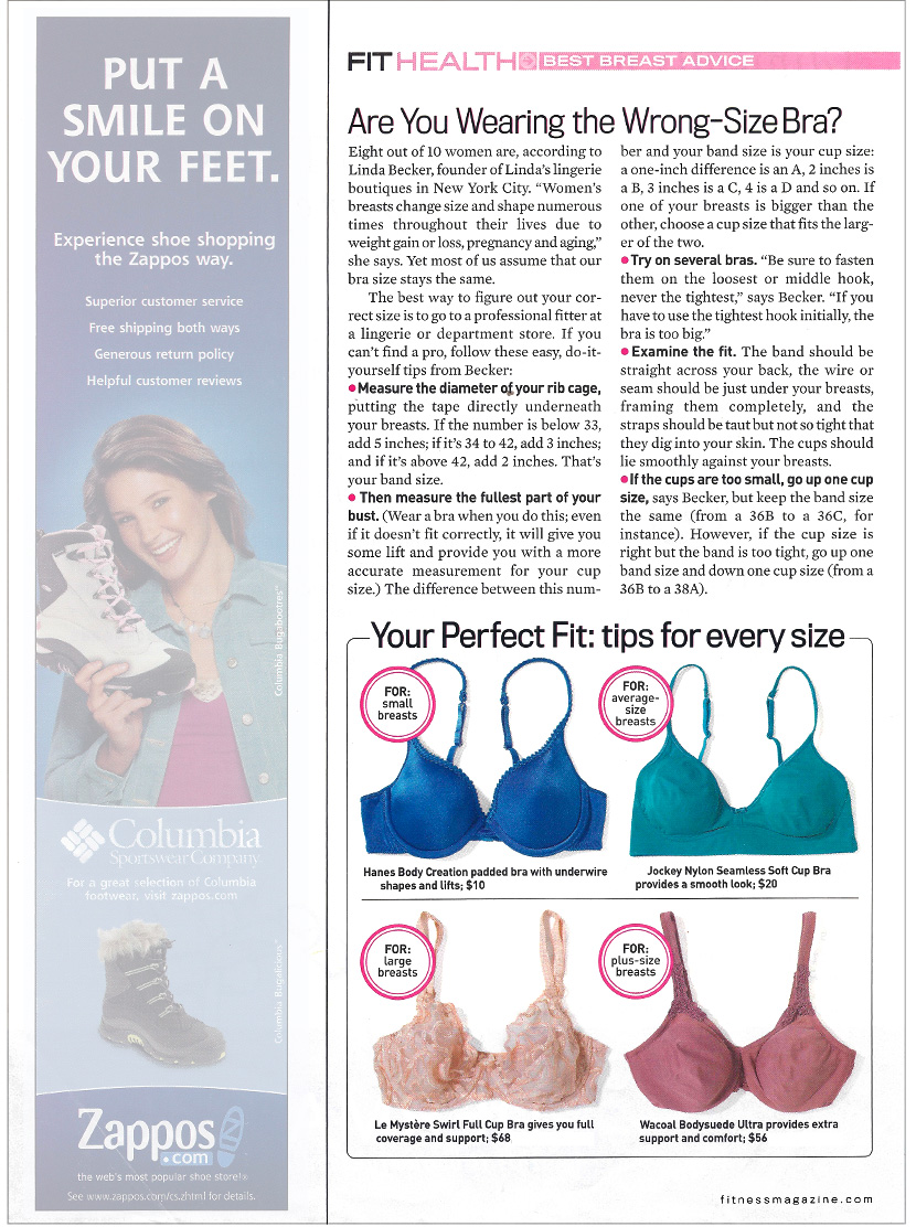 Are You Wearing the Wrong-Size Bra?