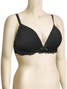 Audelle Lyla Non-Wired Moulded T-Shirt Bra 131305 - Black