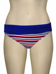Audelle Sailor Fold Pant 168679 - Multi Stripe