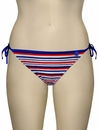 Audelle Sailor Tie Side Pant 168672 - Stripe Multi