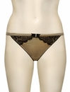 Cake Lingerie Honeycomb Macaroon Tanga Brief 36-1020-73 - Honeycomb