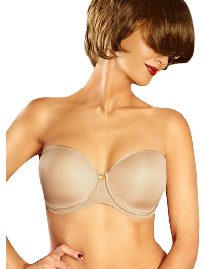 Chantelle C Essential Strapless Underwire Bra 3812 - Ultra Nude