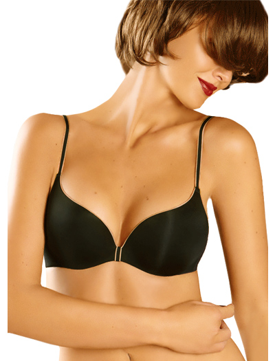 Chantelle Irresistible Multi-Position Push-Up Underwire Bra 1112 - Black