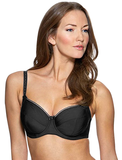 Charnos Superfit Everyday Full Cup Underwire Bra 120609 - Black