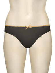 Curvy Kate Ellace Brazilian Brief CK4405 - Black / Champ