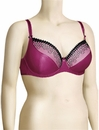 Curvy Kate Gia Balcony Bra CK2101 - Berry / Black