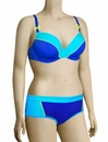 Curvy Kate Ocean Drive Padded Plunge Bikini Top CS2451 - Electric