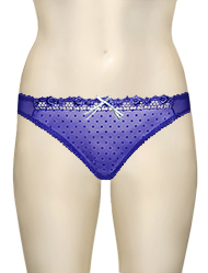 Curvy Kate Princess Thong CK6002 - Night / Silver