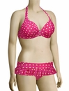 Curvy Kate Seashell Halterneck Bikini Top CS1321 - Sorbet