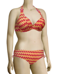 Curvy Kate Shockwave Halterneck Bikini Top CS1221 - Sunset