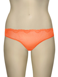 Timpa Duet Lace Panty 630473 - Nectarine