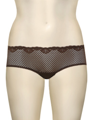 Timpa Duet Lace Shorty 630470 - Chocolate