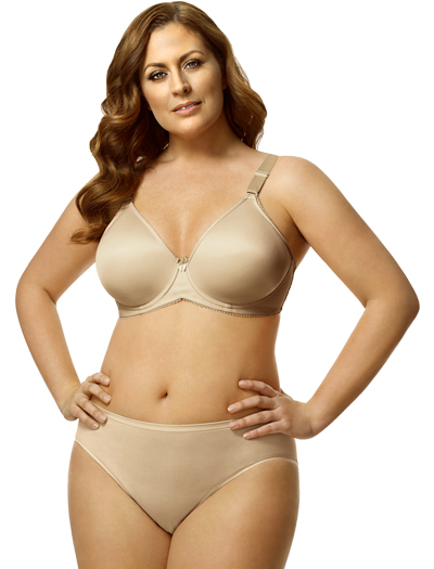 Elila Molded Spacer Underwire Bra 2411 - Nude