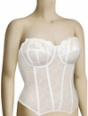 Elomi Occasions Underwire Basque EL8202 - White