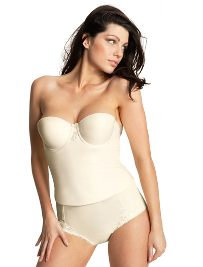 Fantasie Ava Underwire Moulded Bustier 2130 - Ivory
