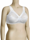 Glamorise MagicLift Full Figure Support Soft Cup Bra 1000 - White