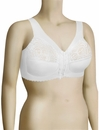 Glamorise MagicLift Front Hook Soft Cup Bra 1200 - White