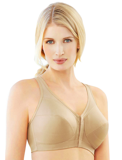 Glamorise MagicLift Posture Back Support Bra 1265 - Cafe