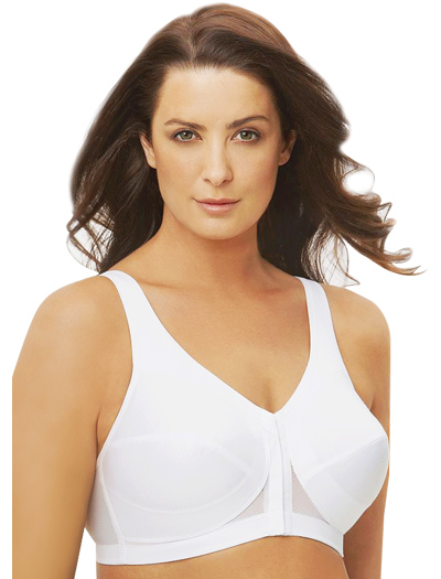 Glamorise MagicLift Posture Back Support Bra 1265 - White
